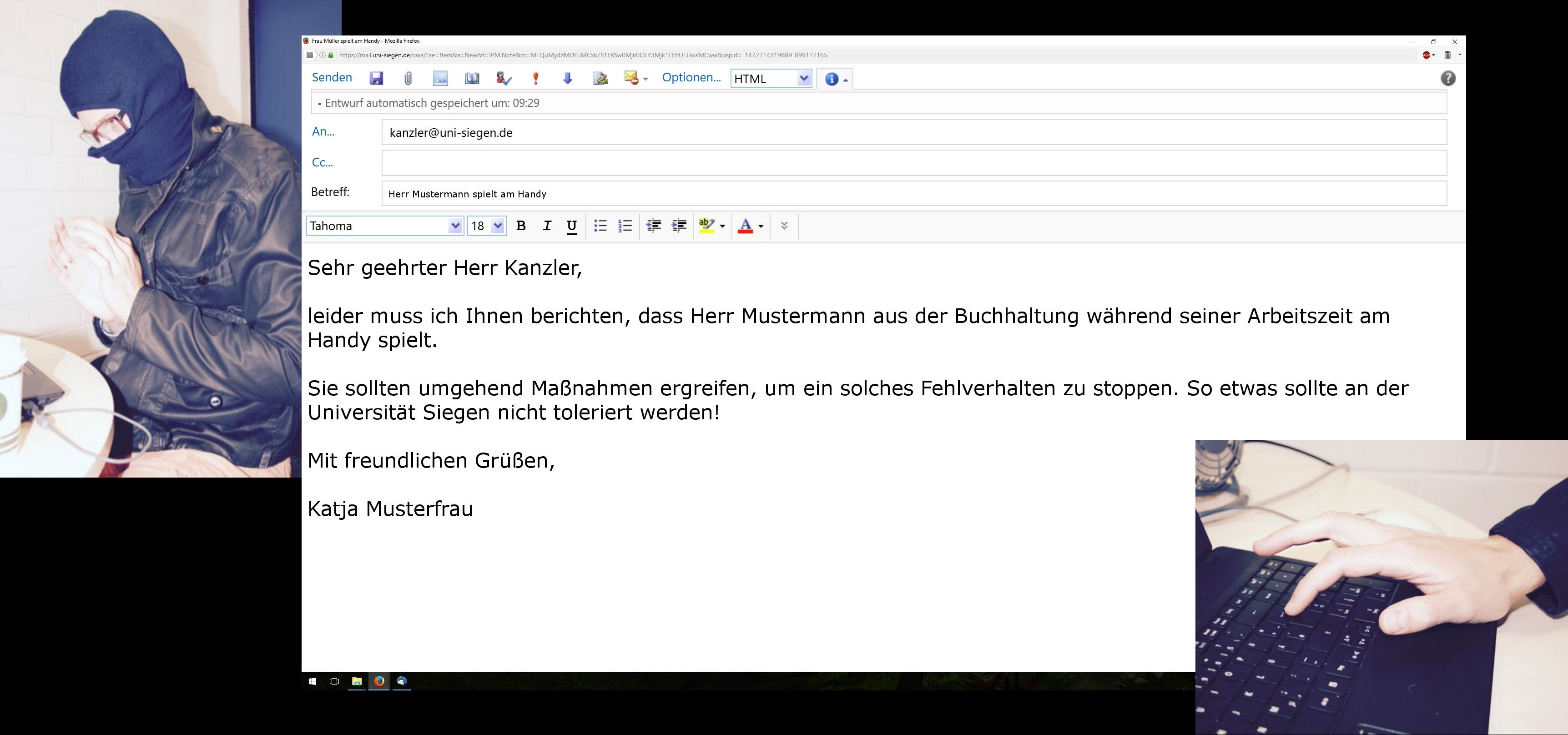 Betrgerische Mails