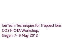 Quantum Optics Workshop 2012