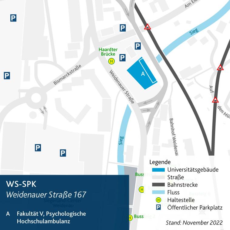 Lageplan WS-SPK